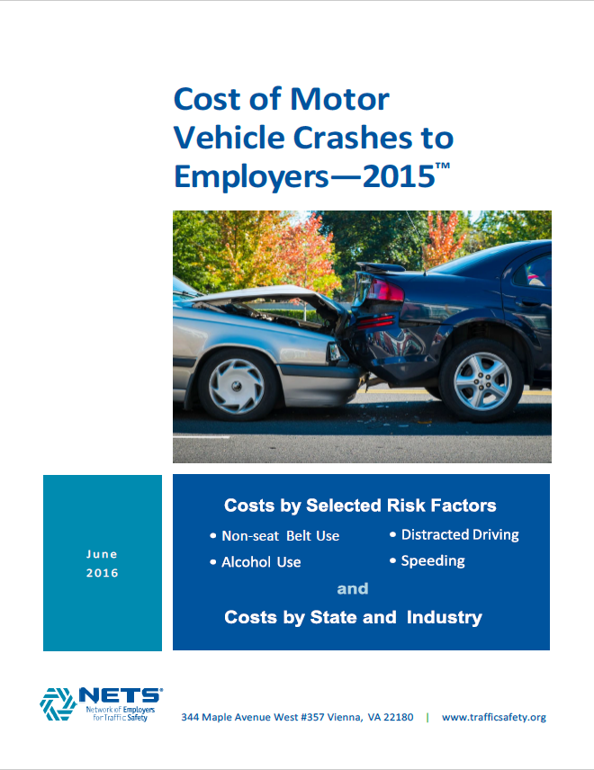 Cost of Motor Vehicle Crashes to Employers - 2015